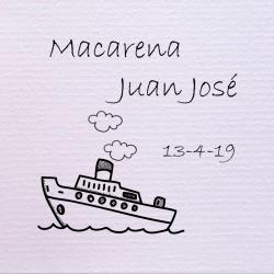 Sello de boda Barco 29,90€