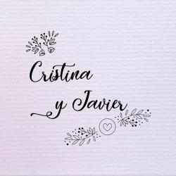 Sello de boda flor de corazón 29,90€